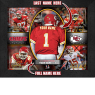 Kansas City Chiefs Action Collage Print - Personalized
