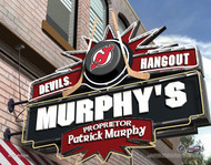 New Jersey Devils Hangout Print - Personalized