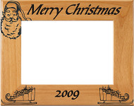 Christmas Engraved Picture Frame - Personalized