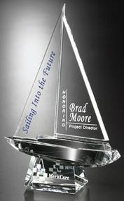 Spinnaker Crystal Corporate Award