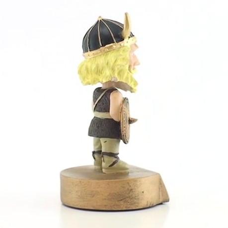 Bobble Head Viking Mascot Trophy