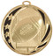 Football MidNite Star Medal - Gold, Silver & Bronze | Engraved Gridiron Medallion | 2 Inch Wide Football MidNite Star Medal - Gold