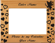 Be My Valentine Picture Frame - Personalized