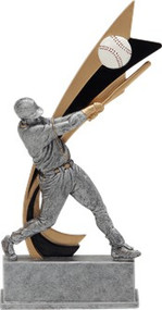 Signature Series Baseball Live Action Resin Trophy