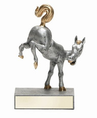 Horse's Rear Bobblehead Trophy | Last Place Loser Award | Kick Butt Prize | 5.5 Inch Tall