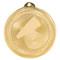 Cheer BriteLazer Medal - Gold, Silver & Bronze | Engraved Spirit Medallion | 2 Inch Wide Cheer BriteLazer Medal - Gold