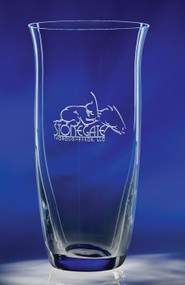 Adrianna Vase  Crystal Corporate Award - 10""