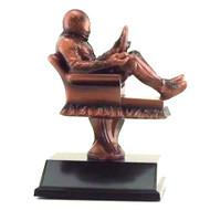 Racing Fantasy League Armchair Trophy | Fantasy NASCAR League Award | 6.5 Inch Tall