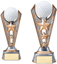 Golf Resin Victory Trophy - Clearance