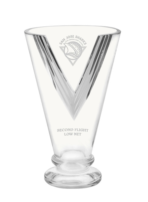 Victory Cup Crystal Award - Engraved