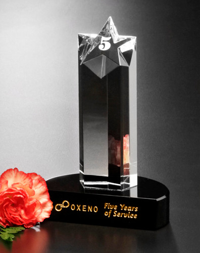Prominence Star Trophy | Star Corporate Award - 5.5""