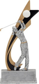 Signature Series Golf Live Action Trophy - Female