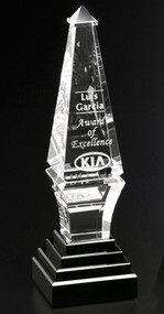 """Epitome Crystal Corporate Award - Small 9"""""""