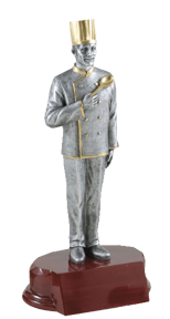 Chef Resin Trophy - Male