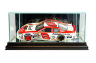 NASCAR 1/24th Glass Display Case - Black Trim