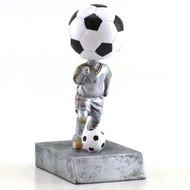 Soccer Bobblehead Trophy   Fútbol Bobblehead Award   5.5 Inch Tall