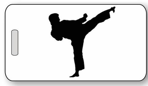 Martial Arts / Karate Luggage / Bag Tag G01