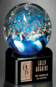 "Celebration Corporate Award – 5.5"" Art Glass Award"