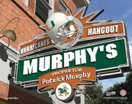 Miami Hurricanes Hangout Print - Personalized