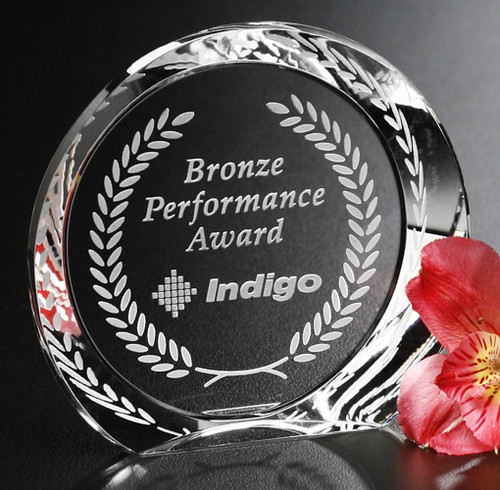 Achiever Crystal Award