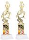Basketball Sport Motion Figure w/ Sports Column Trophy - Male / Female