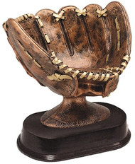 Softball Glove Trophy | Engraved Slow Pitch Ball Display Award - 5""