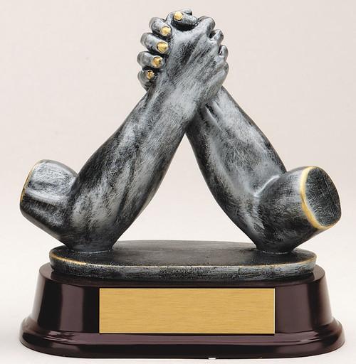 Arm Wrestling Sculpture Trophy