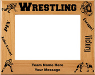 Wrestling Picture Frame - Personalized