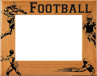 Football Picture Frame - Personalized