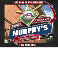 Atlanta Braves Hangout Print - Personalized