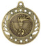 Victory Torch Galaxy Medal - Gold, Silver & Bronze | Engraved Flame of Victory Medallion | 2.25 Inch Wide Victory Torch Galaxy Medal - Gold