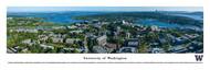 University of Washington Panorama Print #3 (Aerial - Campus) - Unframed