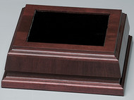 "Base - Walnut Royal Finish 7.75"" Square"