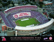 Alabama Crimson Tide Stadium Print - Personalized