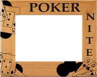 Poker Card Picture Frame