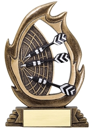 Darts Flame Series Trophy