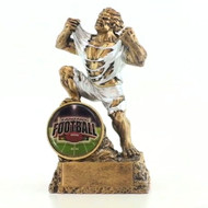 Fantasy Football Shield Monster Trophy | FFL Beast Award | 6.75 Inch Tall