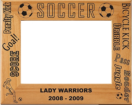 Soccer Picture Frame - Personalized