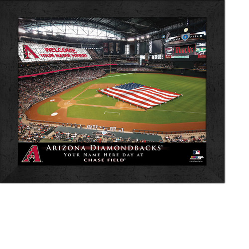 Arizona Diamondbacks Stadium Print - Personalized