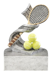 Tennis Color Tek Trophy | Fast Serve Award | 4 Inch