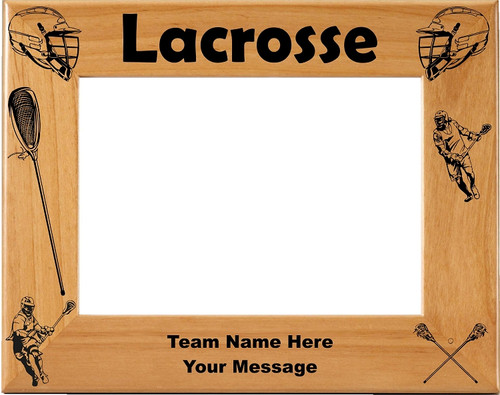 Lacrosse Picture Frame - Personalized