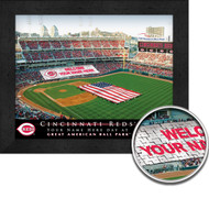 Cincinnati Reds Stadium Print - Personalized