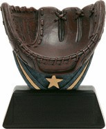 Baseball Signature Series Ball Holder | Game Ball Glove Trophy - Clearance