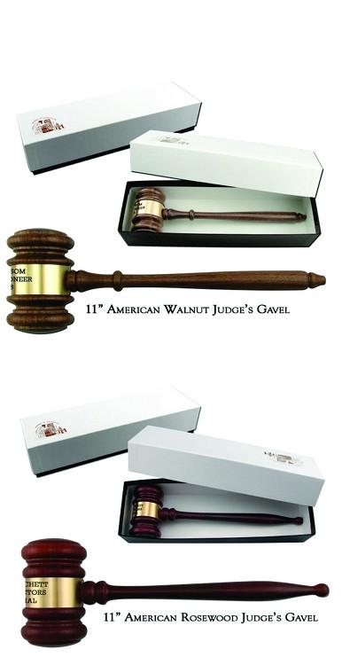 Gift Boxed Judge's Gavel