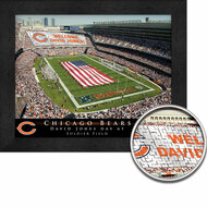 Chicago Bears Stadium Print - Personalized