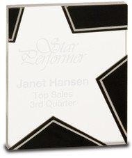 Glass Star Award - Small