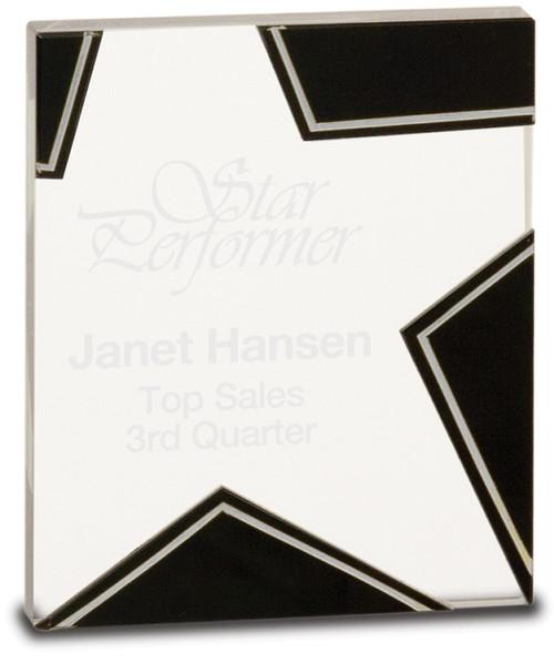 Glass Star Award - Small