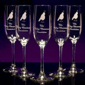 Champagne Flutes (Tall) - Personalized