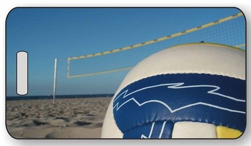 Volleyball Luggage / Bag Tag G04