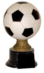 Soccer Ball Full Size Color Resin Trophy | Fútbol Award